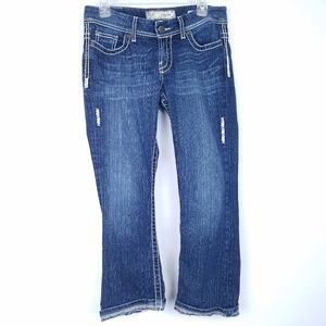 THE BUCKLE BKE Jeans Short Payton Boot Cut Cuffed